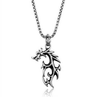 TK2000 - Stainless Steel Necklace High polished (no plating) Men No Stone No Stone