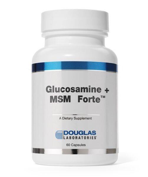 Glucosamine + MSM Forte ™ | 120 capsules