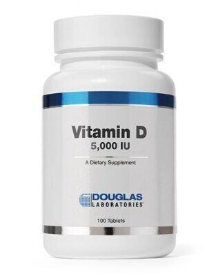 Vitamin D 125 mcg (5,000 IU)