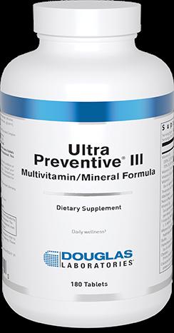 Ultra Preventive® III (Tablets)
