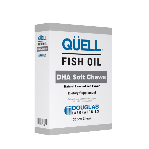 QÜELL® Fish Oil DHA Soft Chews