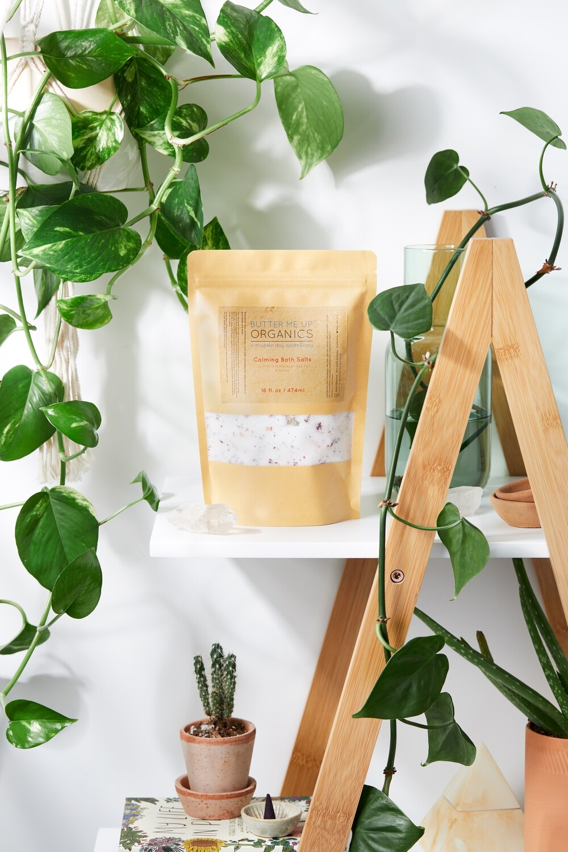 Calming Bath Salts / Detox / Relaxation / Lavender