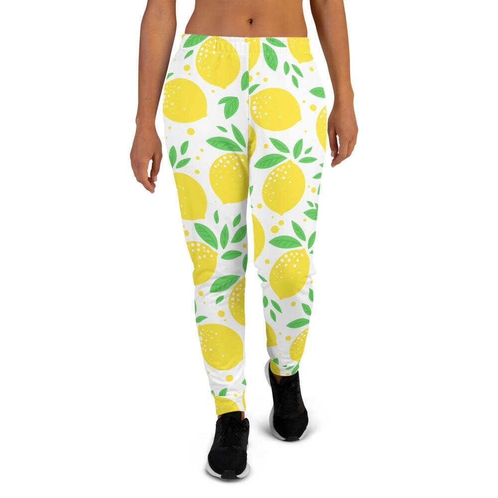 Women's Lemon Joggers