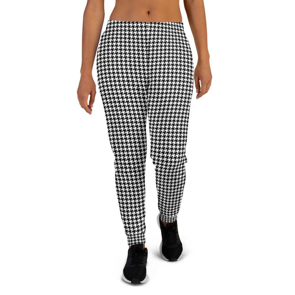 Women's Houndstooth Joggers