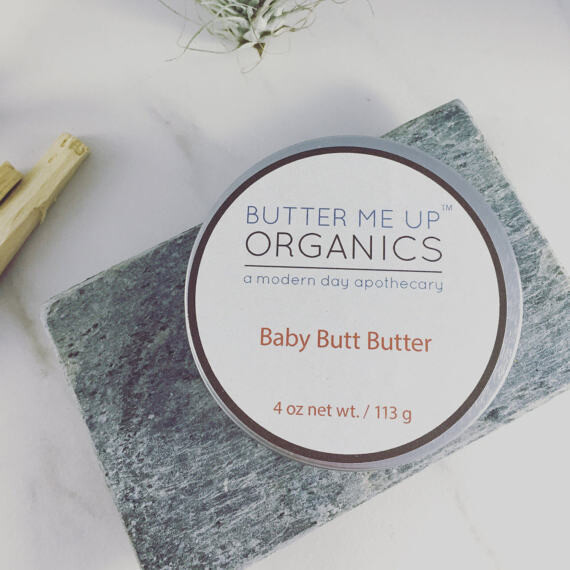 Baby Butt Butter- Organic Diaper Cream
