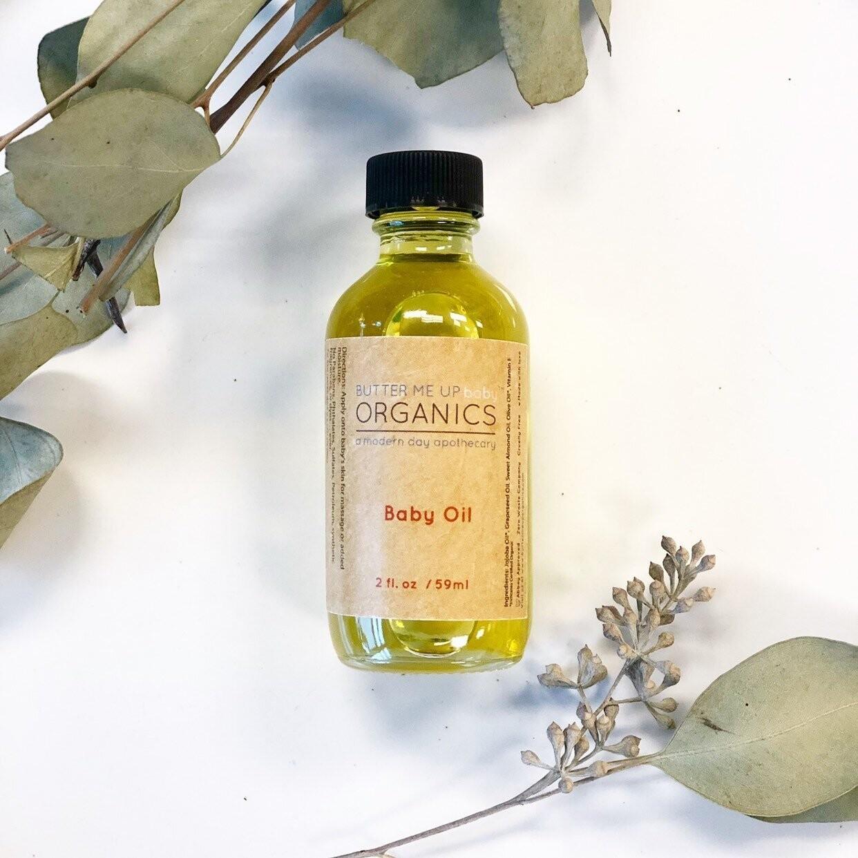 Organic Gentle Baby Oil