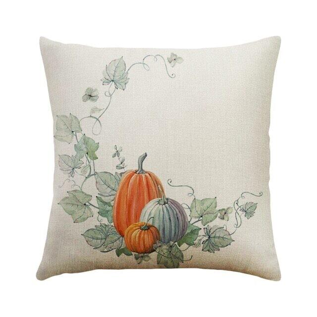 DIDIHOU 1 pc Pillowcase Happy Fall Thanksgiving