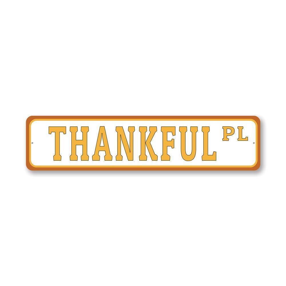 Thanksgiving Street Sign