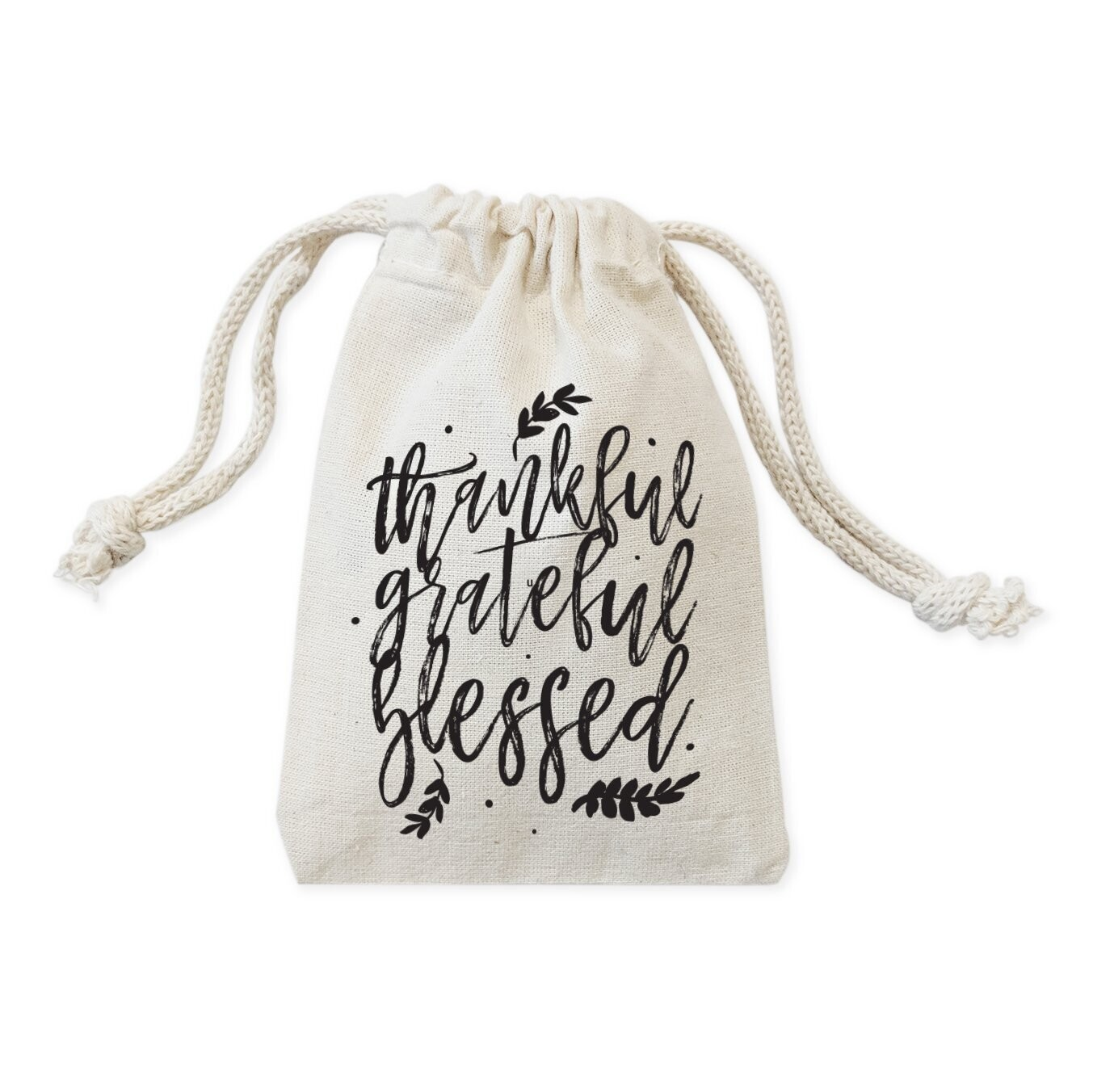 Thankful, Grateful, Blessed Thanksgiving Favor Bags, 6-Pack