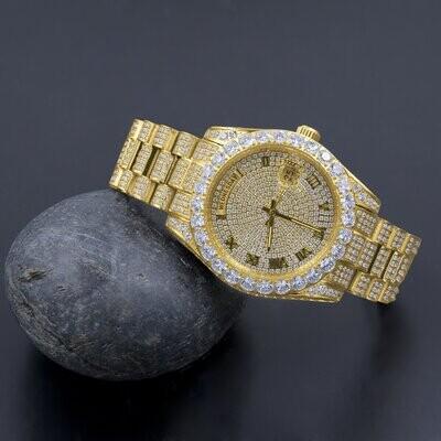 CROWN Steel Watch | 530332
