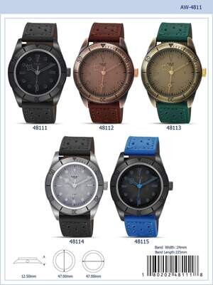 ME4811 - Vegan Leather Band Watch
