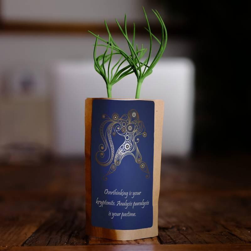 Aquarius Zodiac Tree Gift, We Plant 1 More Tree