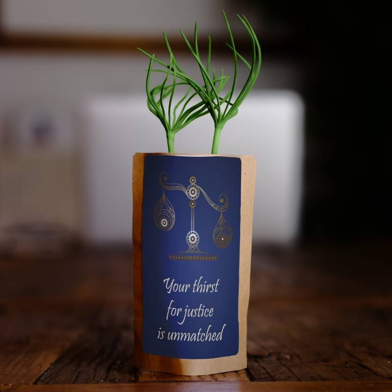 Libra Zodiac Tree Gift, We Plant 1 More Tree