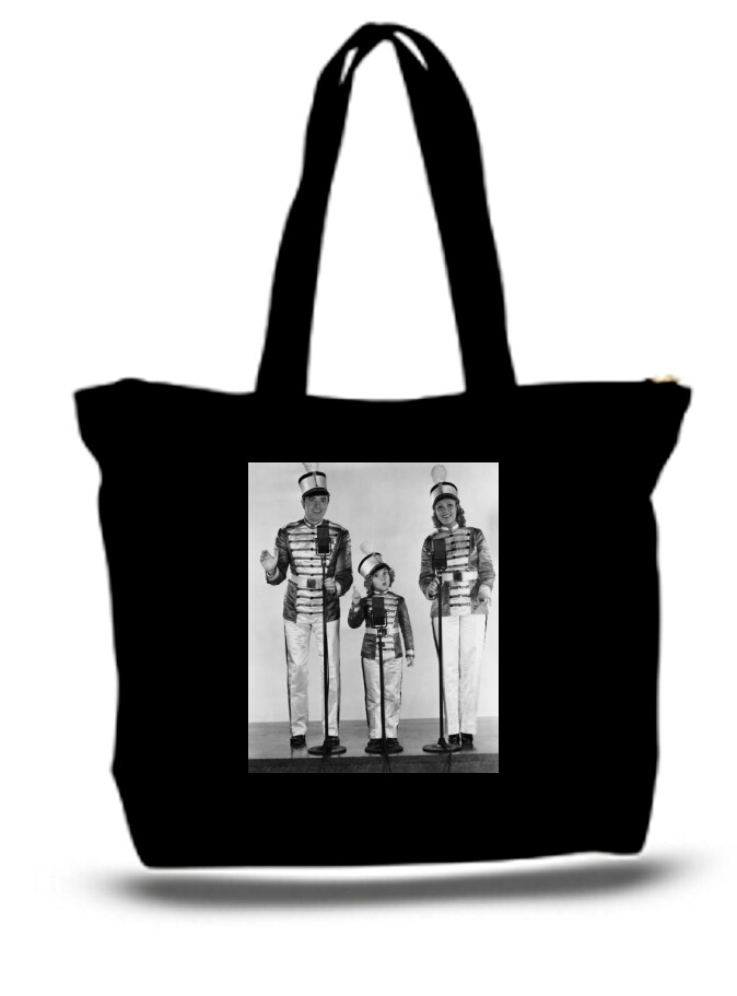 Large  Tote Grocery & Stuff Bag Sherly Temple