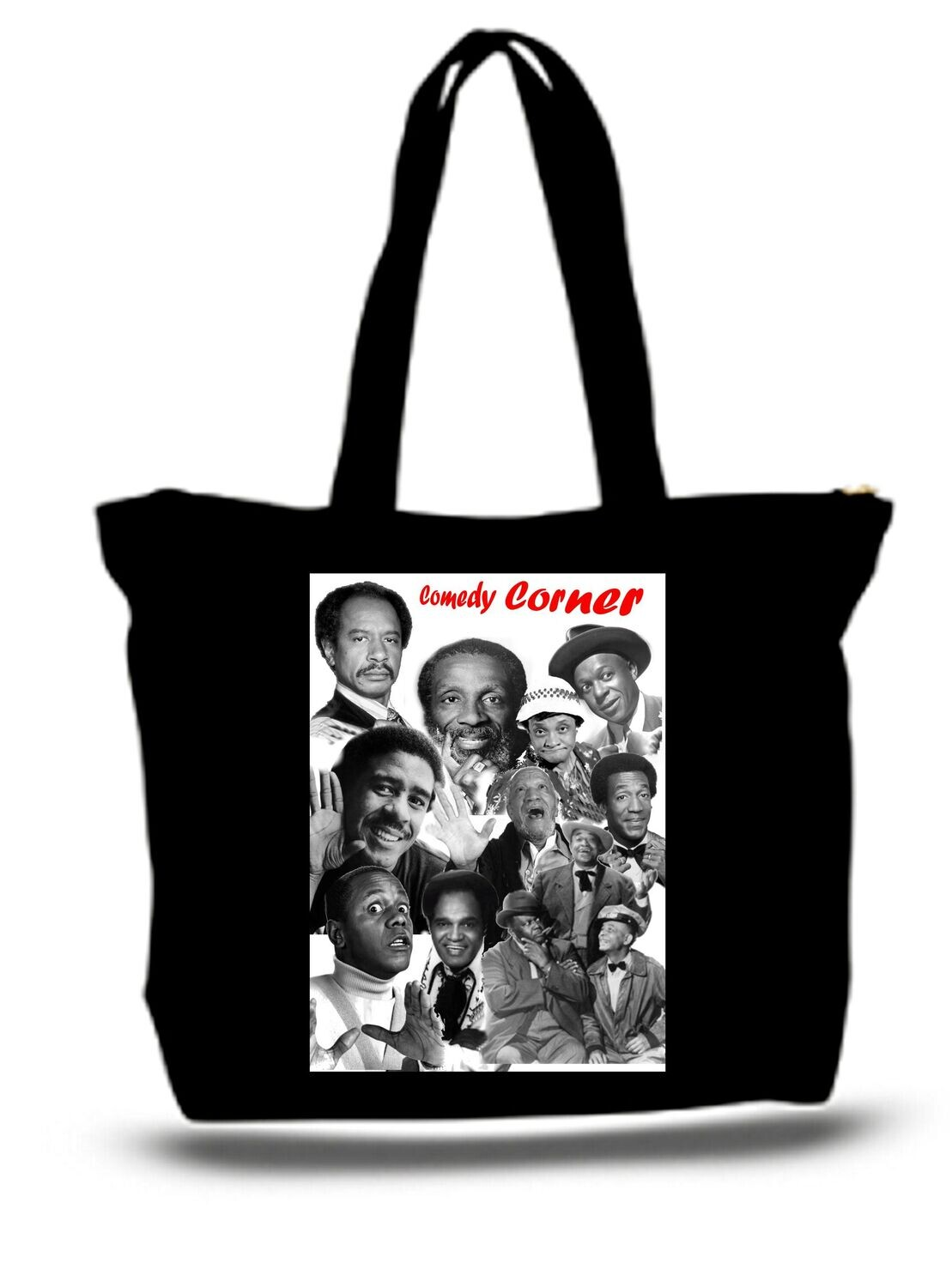 Large  Tote Grocery & Stuff Bag African American Comedy Legends