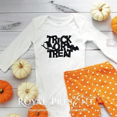 Бесплатный Дизайн машинной вышивки на Хэллоуин