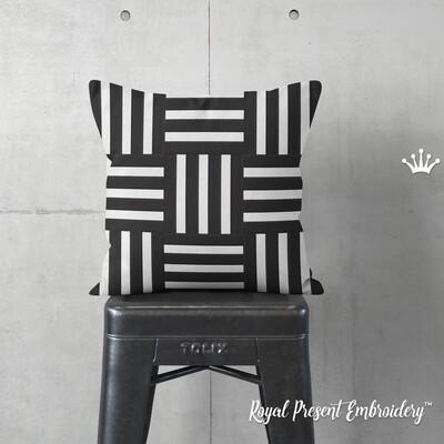 Полоски для квилта Дизайн машинной вышивки - 5 размеров