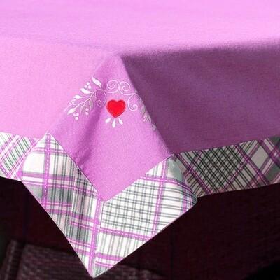 Сердце орнамент с аппликацией Дизайн машинной вышивки - 3 размера