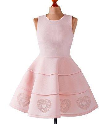 Дизайн машинной вышивки Кружевное сердечко