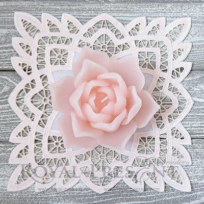 Дизайн машинной вышивки Ажурный орнамент ришелье - 3 размера