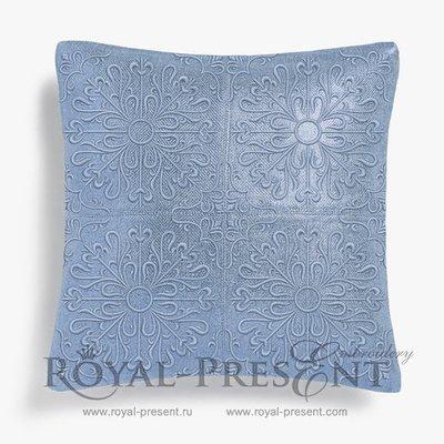 Дизайн для машинной вышивки Арабеска - 4 размера