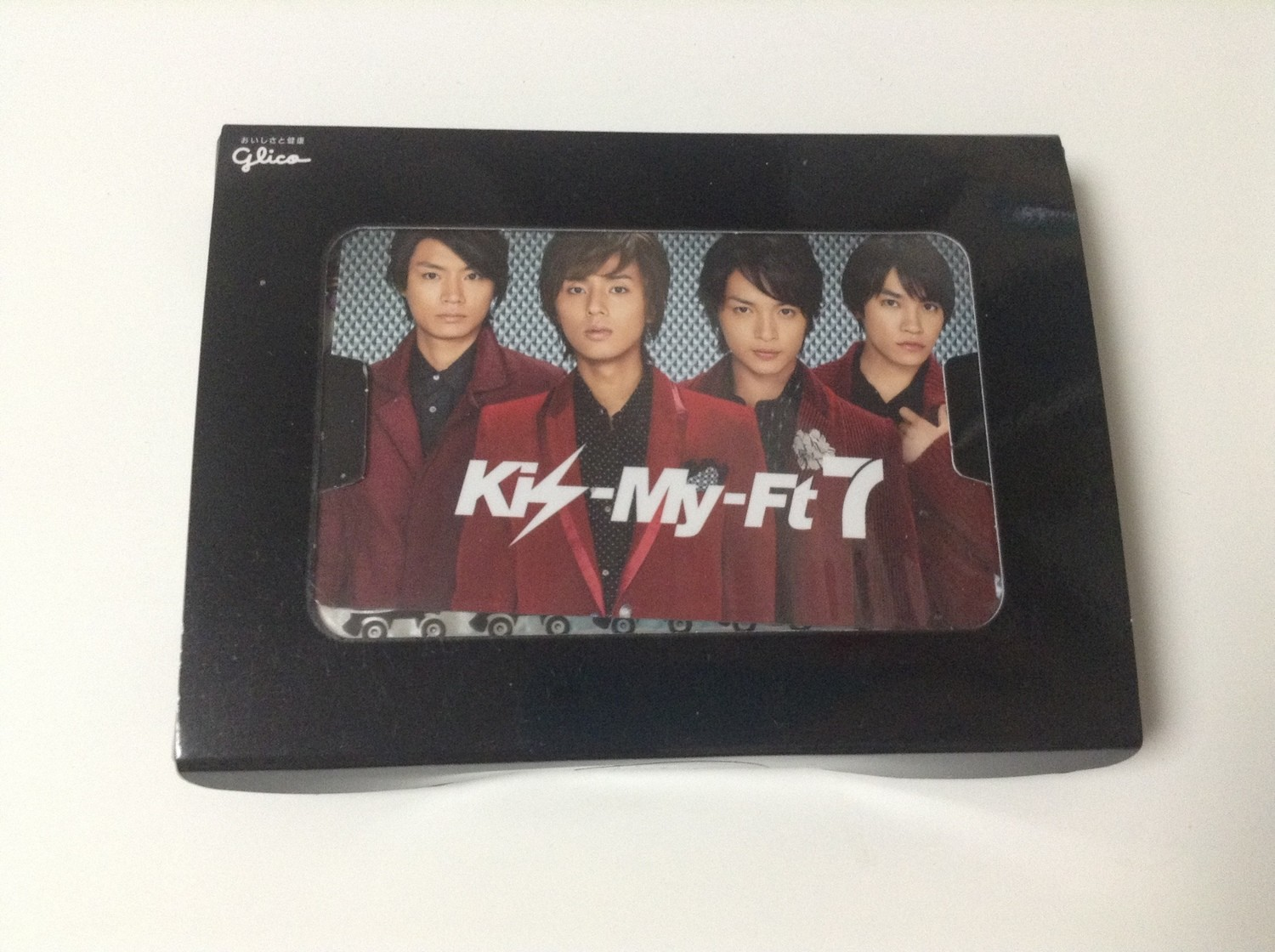 Kis-My-Ft2 Kissmint Promotional Card with Gum