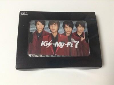 Kis-My-Ft2 Kissmint Promotional Card with Gum