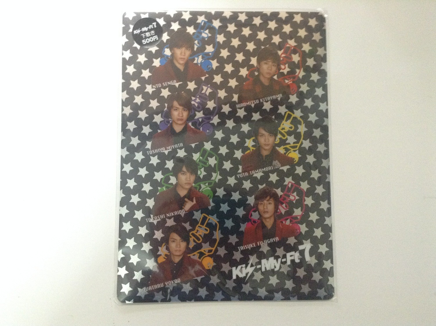 Kis-My-Ft2 7-11 Pencil Board