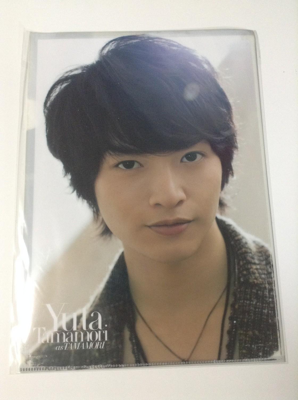 Kis-My-Ft2 Dreamboys JET Yuta Tamamori Clearfile
