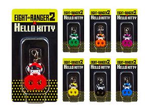 Kanjani8 7-11 Eight Ranger 2 Hello Kitty Charms (Full Set)