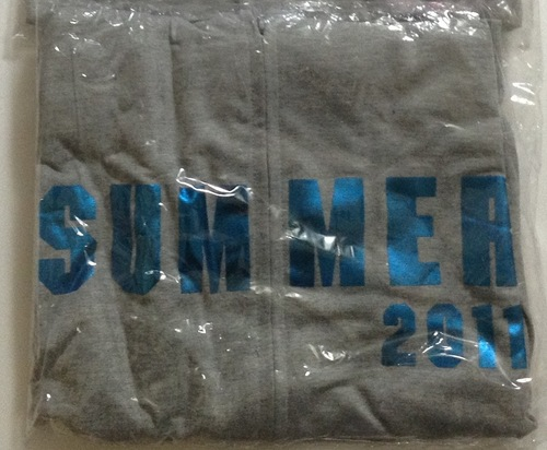 Kis-My-Ft2 Everybody Go Summer Concert 2011 Parka (Pink and Blue)