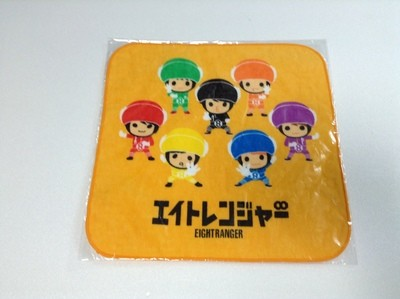 7-11 Eight Ranger Movie Mini Towel