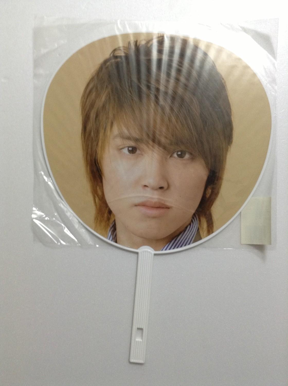 NEWS Yuya Tegoshi Pacific Tour Concert Uchiwa (Silver)