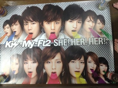 Kis-My-Ft2 She! Her! Her! Poster