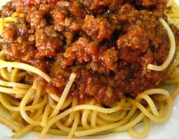 Spaghetti With Tomato or Meat Sauce