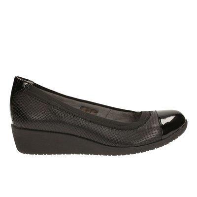 Zapatos Petula Sadie Cuero Negro