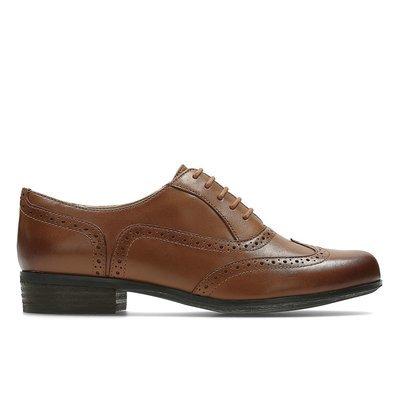 Zapatos Hamble Oak Cuero Marron Tostado Oscuro
