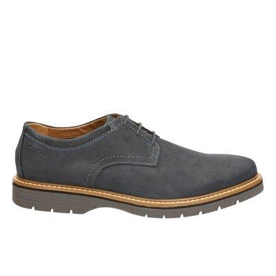 Zapatos Newkirk Plain Nobuck Azul