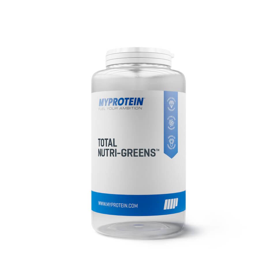 Comprimidos Total Nutri-Greens - 90Tabletas - Tarro - Sin sabor