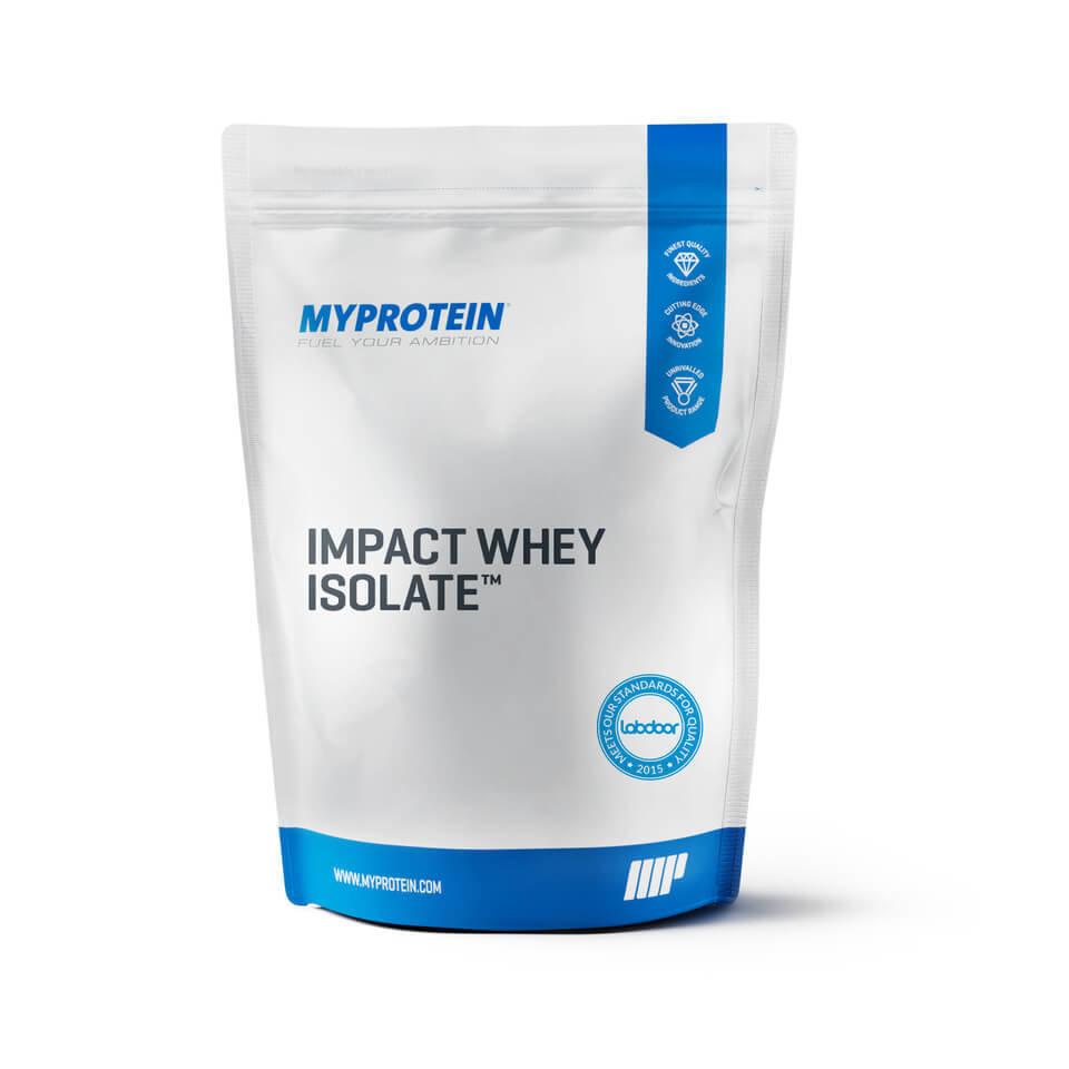 Impact Whey Isolate - 5kg - Bolsa - Pl�tano Natural