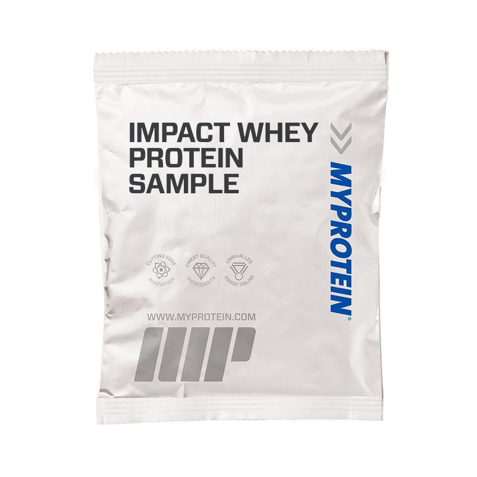 Impact Whey Protein (muestra) - 25g - Bolsita - Chocolate y Caramelo