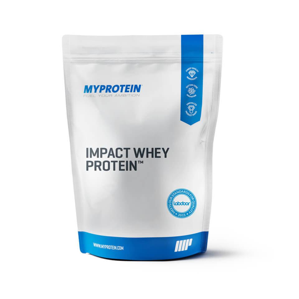 Impact Whey Protein - 5kg - Bolsa - Stevia - Fresa