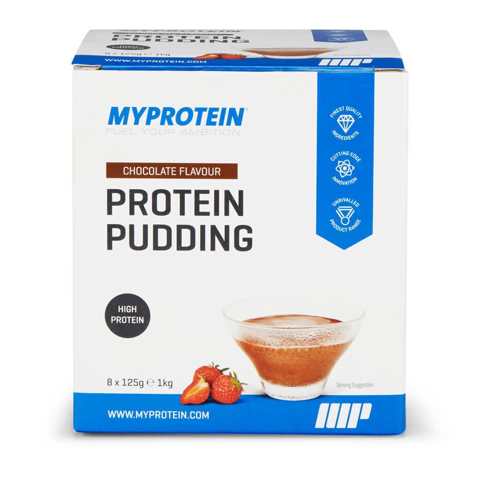 Pudin de Proteinas - 8 x 125g - Paquete - Chocolate