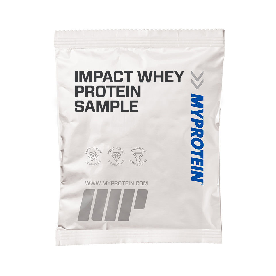 Impact Whey Protein (muestra) - 25g - Bolsita - Sirope Dorado