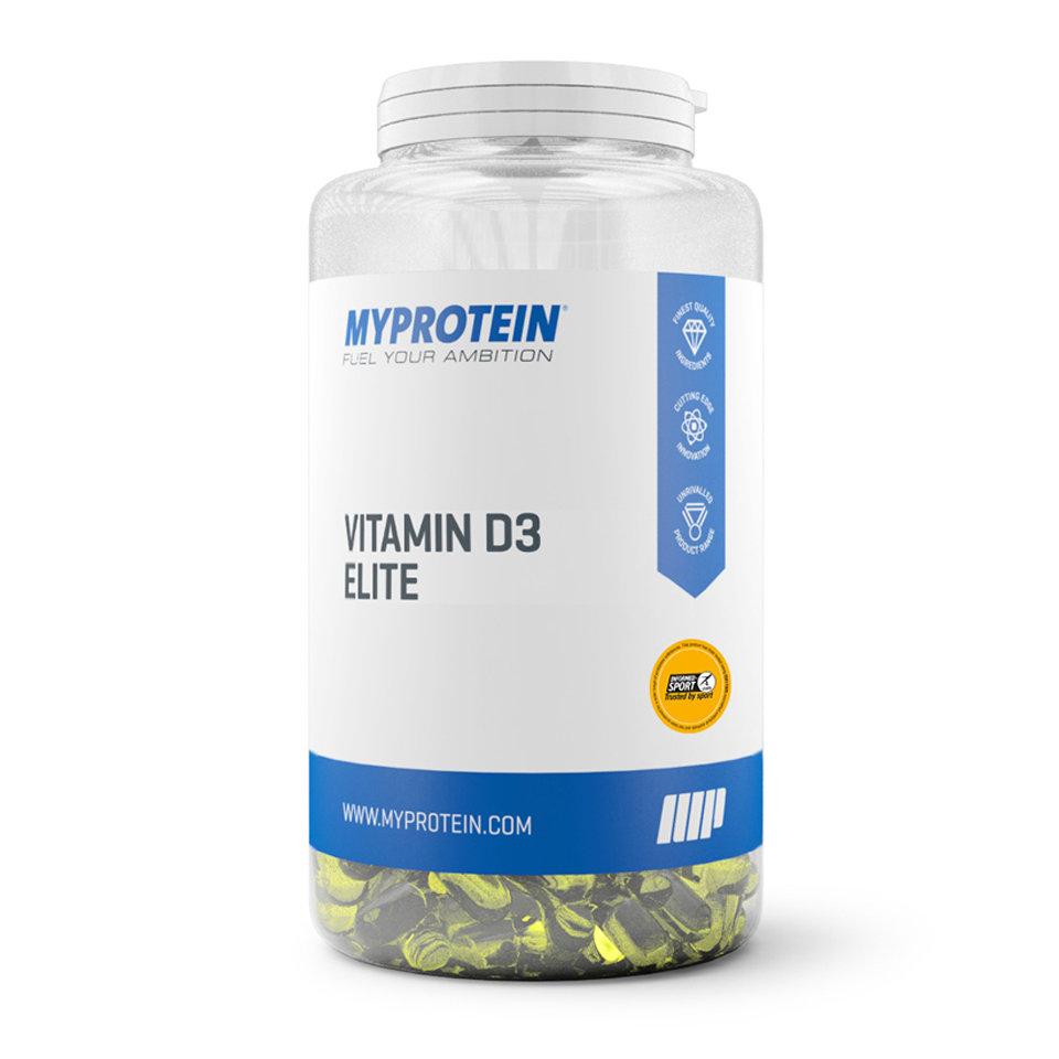 Vitamina D3 elite - 180C�psulas - Tarro - Sin sabor