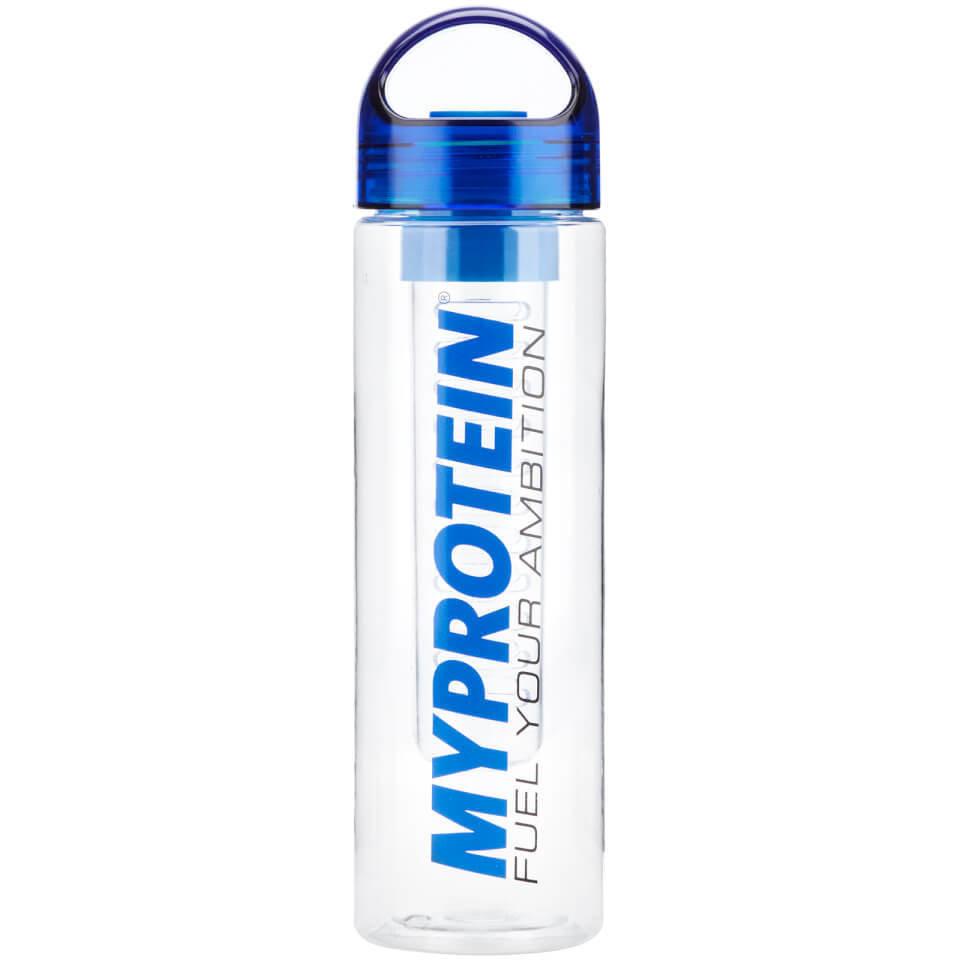 Botella con Infusor de Frutas Myprotein - Azul