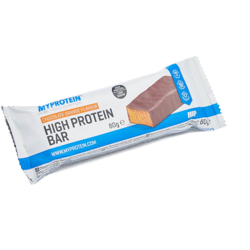 Barritas Ricas En Proteina - 80g - Caja - Strawberries and Cream