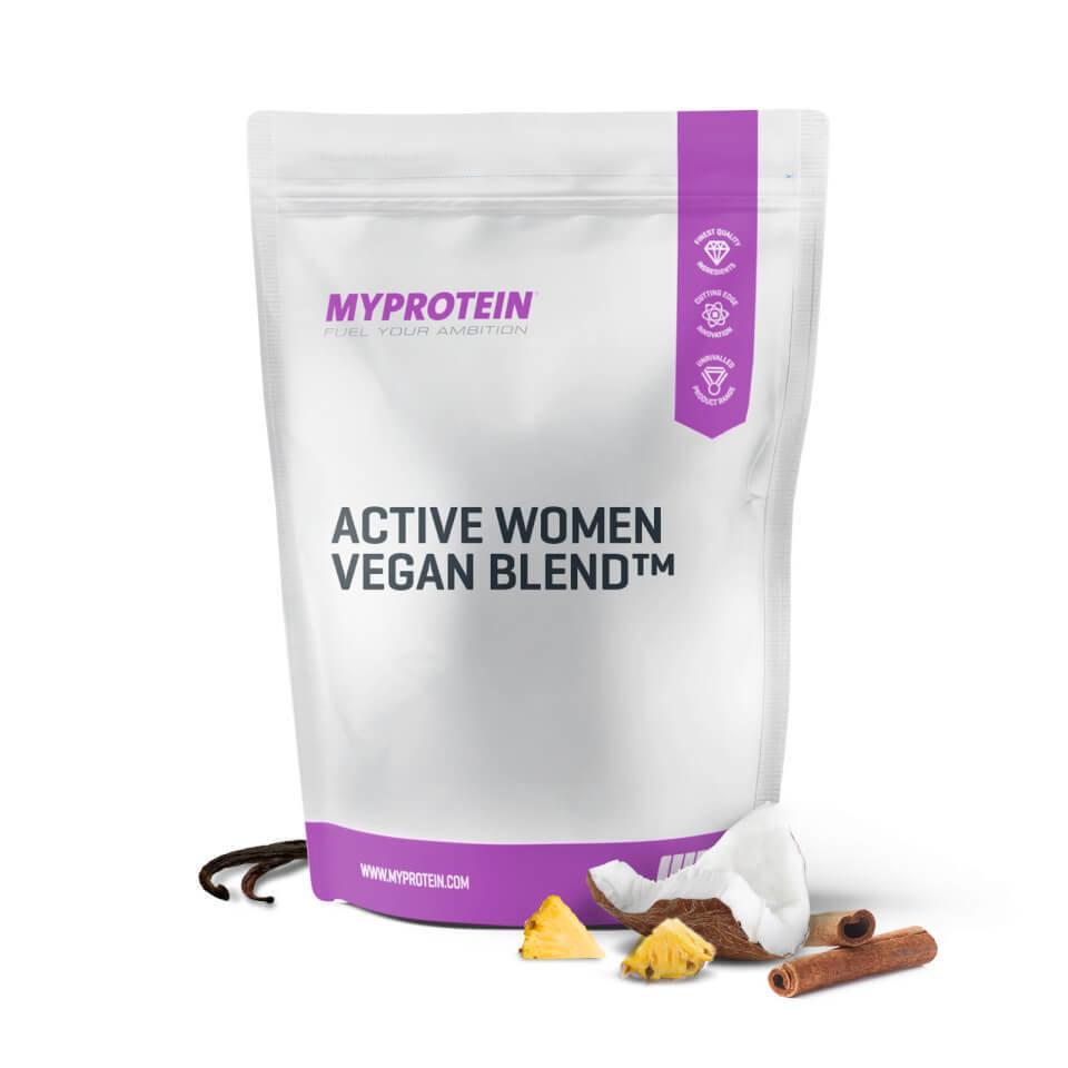 Mezcla Vegana para Adelgazar Active Women� - 1kg - Bolsa - pi�a y coco