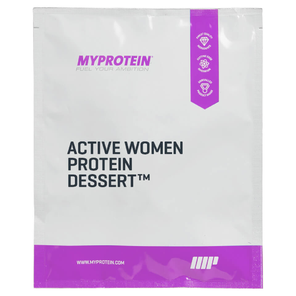 Postre de Proteinas Active Women� (Muestra) - 32g - Bolsa - Tarta de Fresa