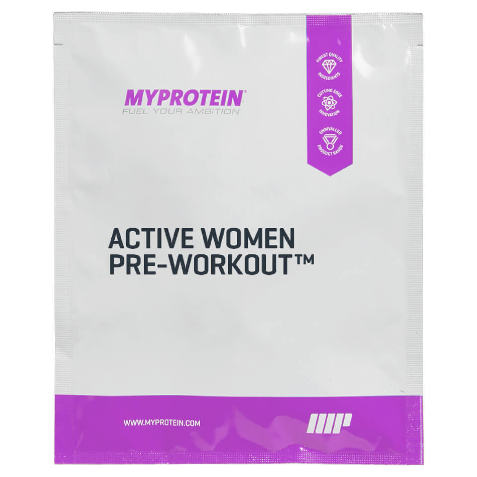 Pre-entrenamiento Active Woman� (Muestra) - 25g - Bolsa - Apple & Pear